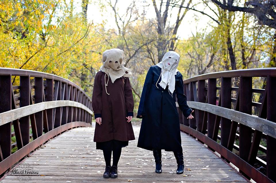 1800s early halloween costumes cisaw and clangk by chex33