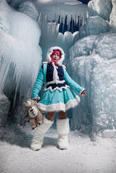 FrostFire Annie League of Legends by Chex33
