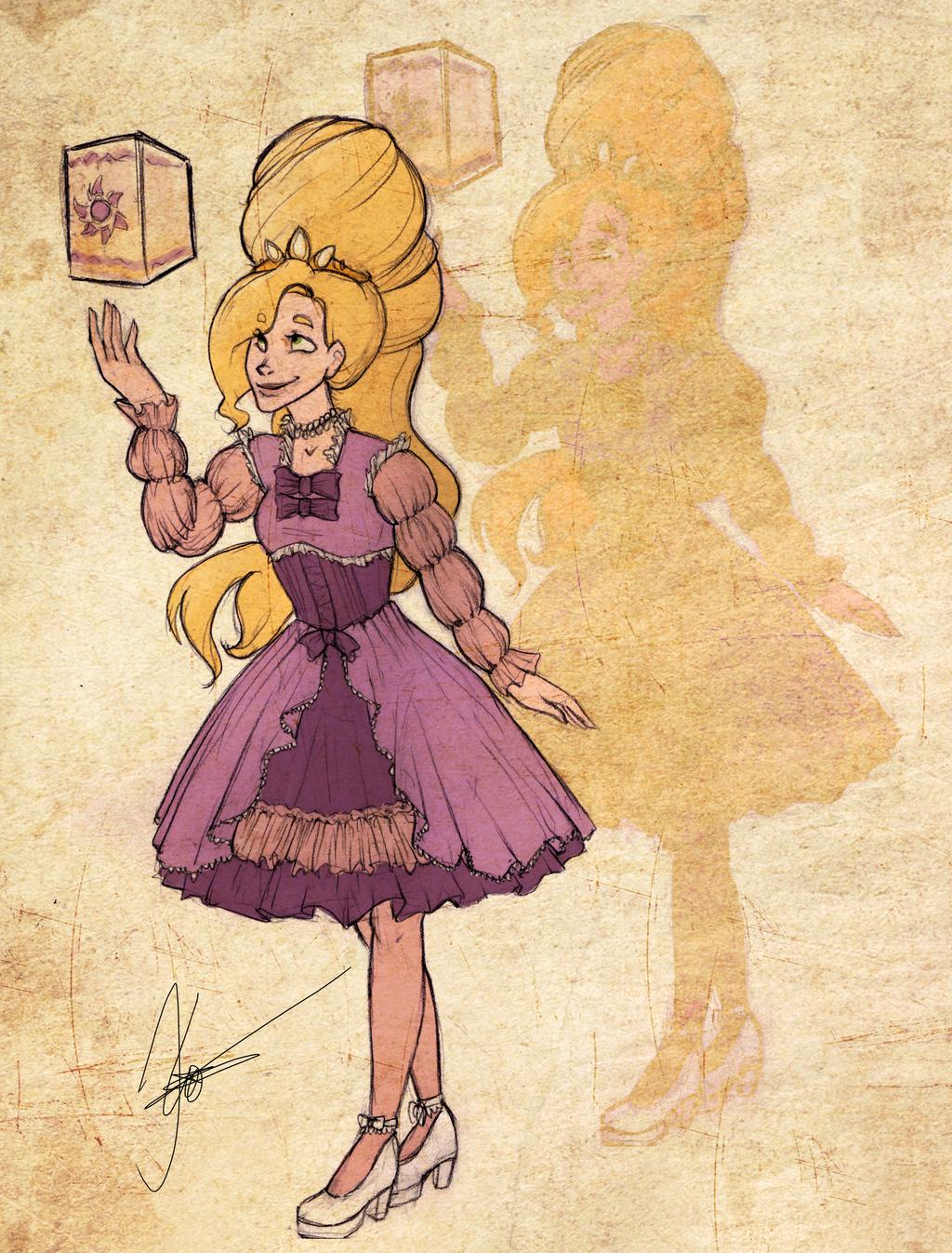 Disney Girls: Rapunzel by KimberBee