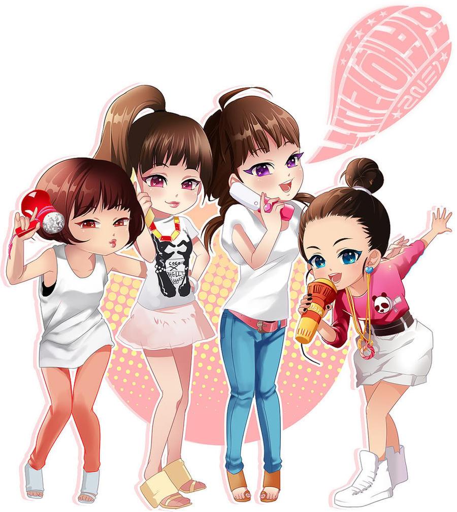 Kpop 2ne1 By Shine1234