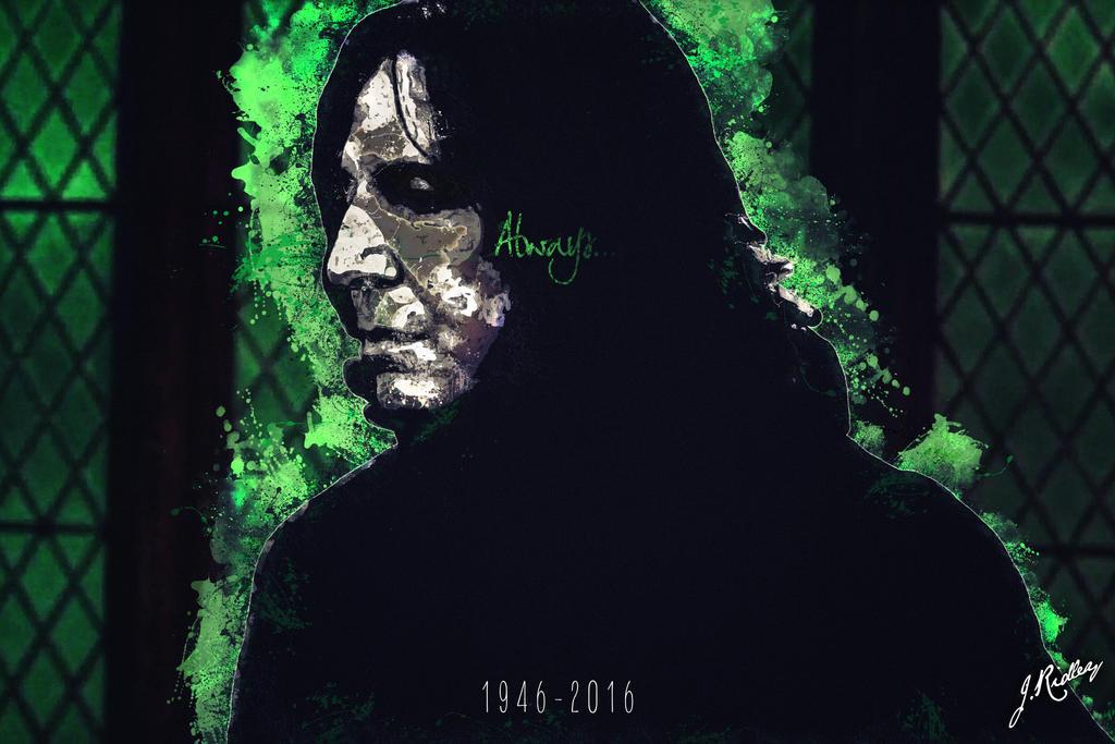 ALWAYS.... ( Severus Snape/Alan Rickman Tribute) by jaceridley