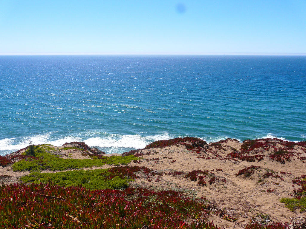 The Mighty Pacific Ocean by Trisaw1