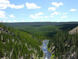 Yellowstone National Park Canyon River3 by Trisaw1
