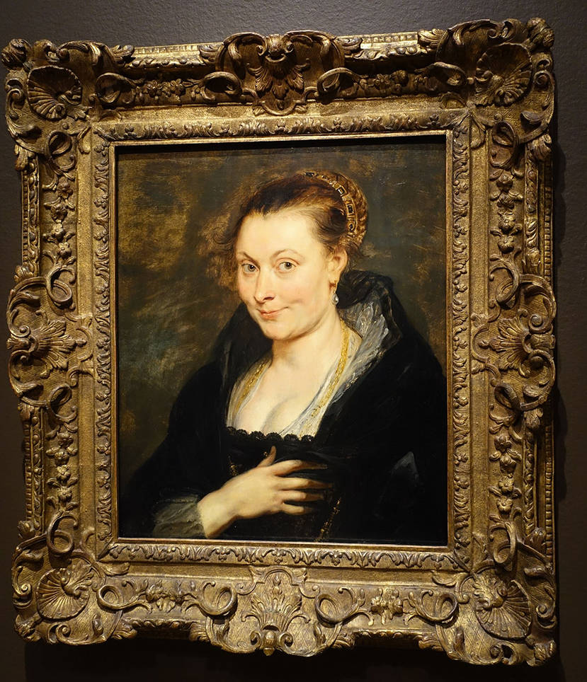 Peter Paul Rubens' Wife, Isbella Brant by Trisaw1