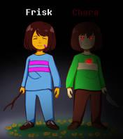 Choose your fallen child_Frisk