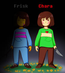 Choose your fallen child_Chara
