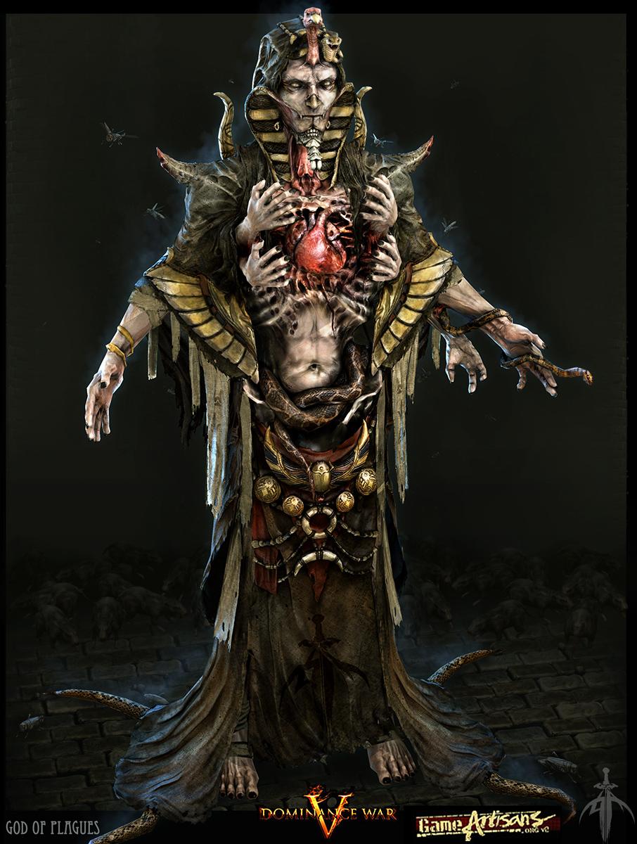 DWV_God of Plague by ZawYeMyint1