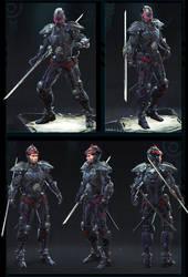 Ninja Gear by ZawYeMyint1