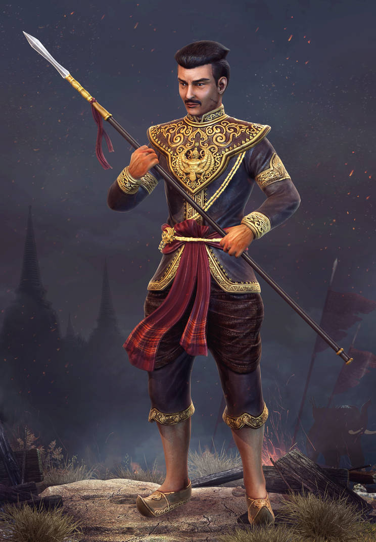 King Naresuan by ZawYeMyint1