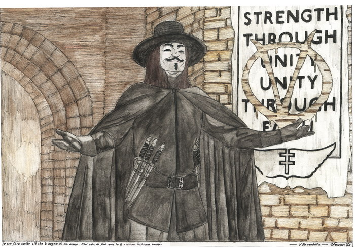 V for Vendetta by Phoenix74n