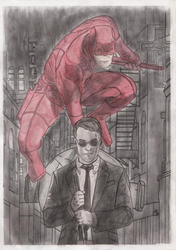 Daredevil by Phoenix74n