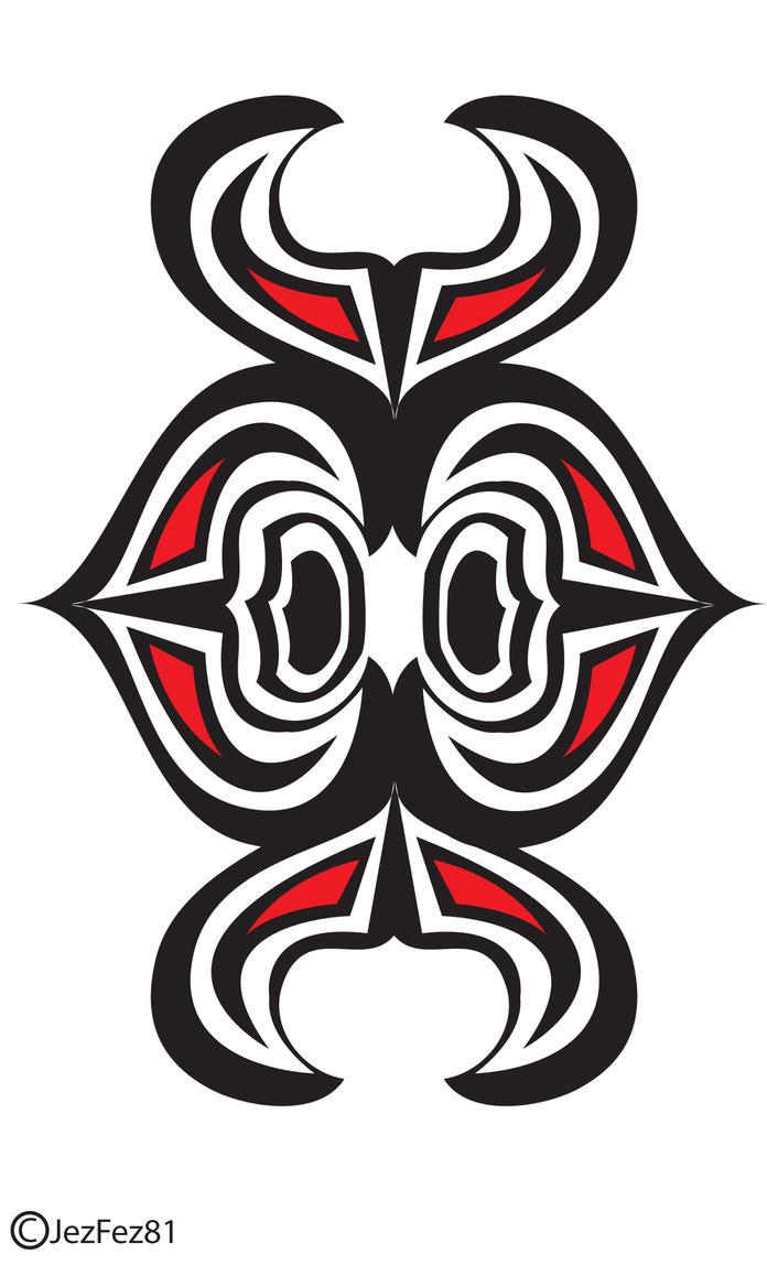Tribal maui like tattoo design by jezzy fezzy on deviantart for Maui tattoo stencil