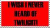 Wish I never heard of Twilight by Jezzy-Fezzy