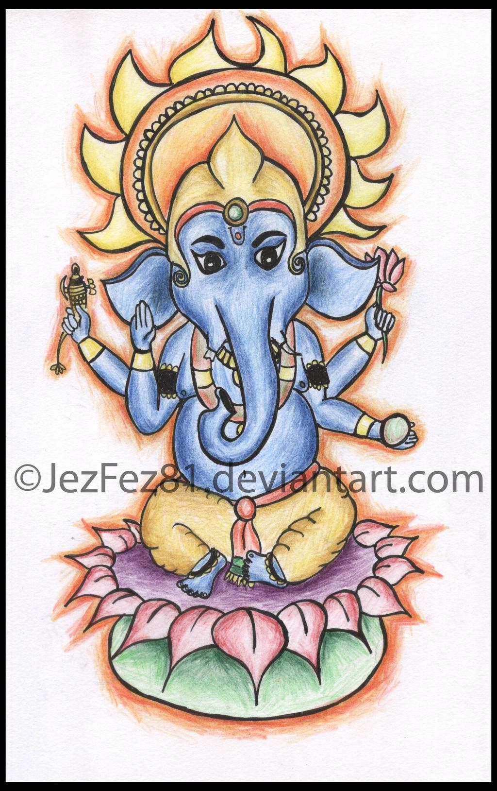 Ganesha Tattoo Designs Pictures