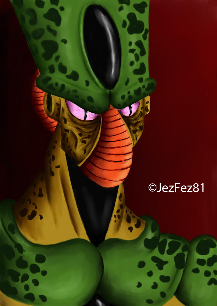 Dragon Ball Z- Imperfect Cell by Jezzy-Fezzy