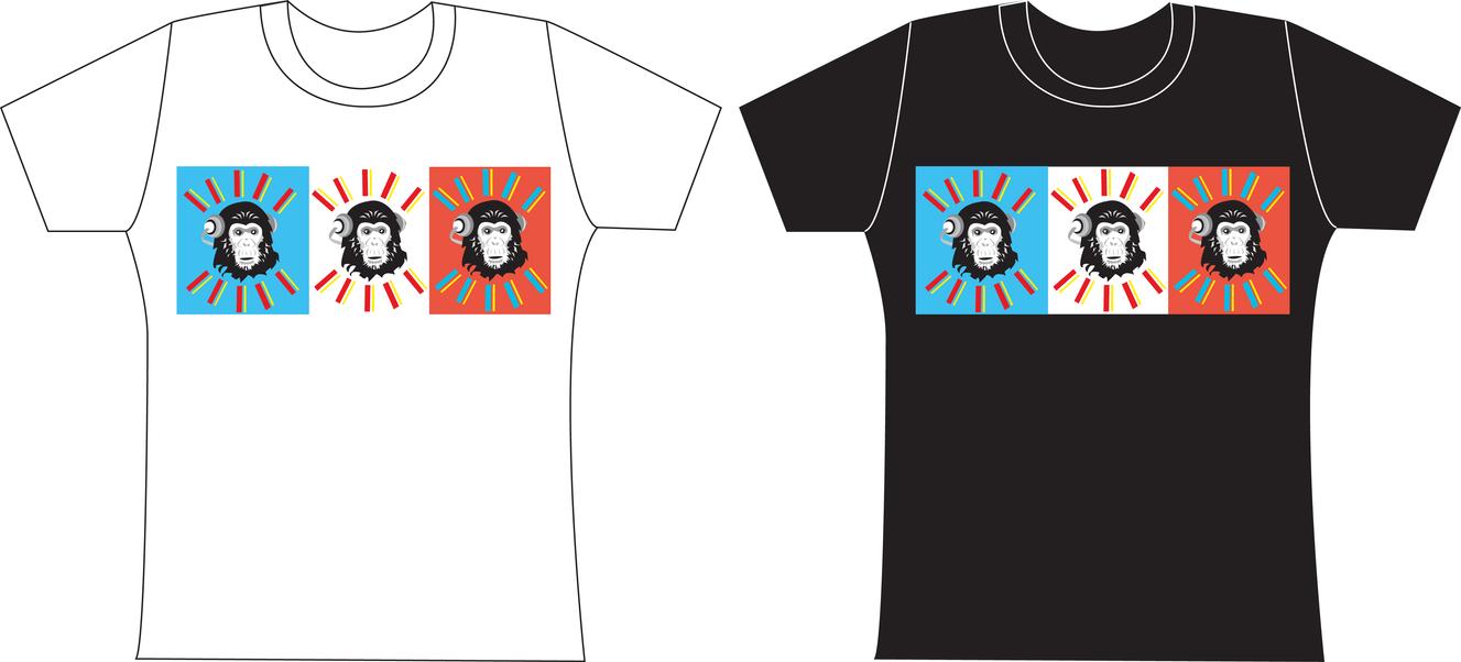 Crazy Chimp T Shirt Designs 1 By Jezzy Fezzy On Deviantart