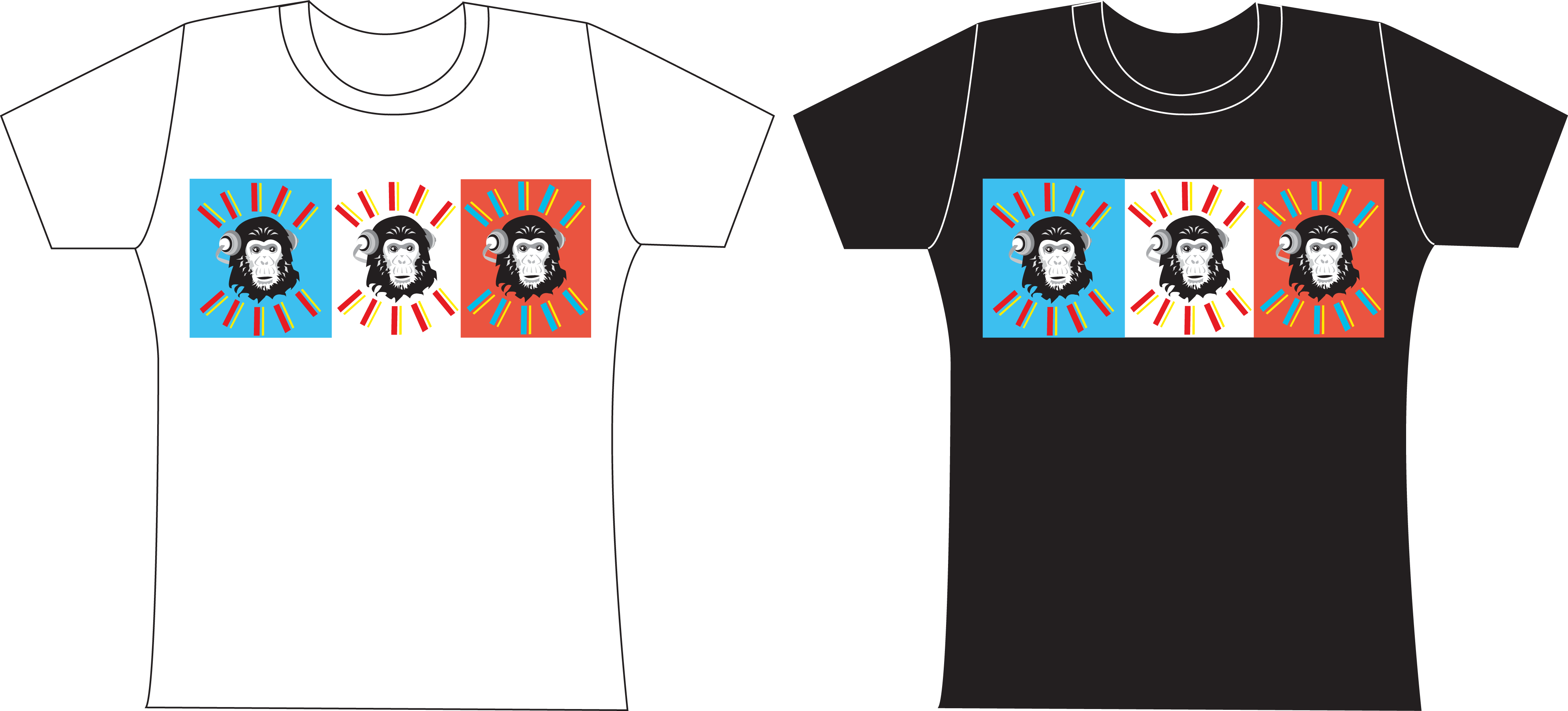 Crazy chimp t shirt designs 1 by jezzy fezzy on deviantart for Crazy t shirt designs