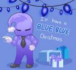Blue Blue Christmas by Melanchollyanna