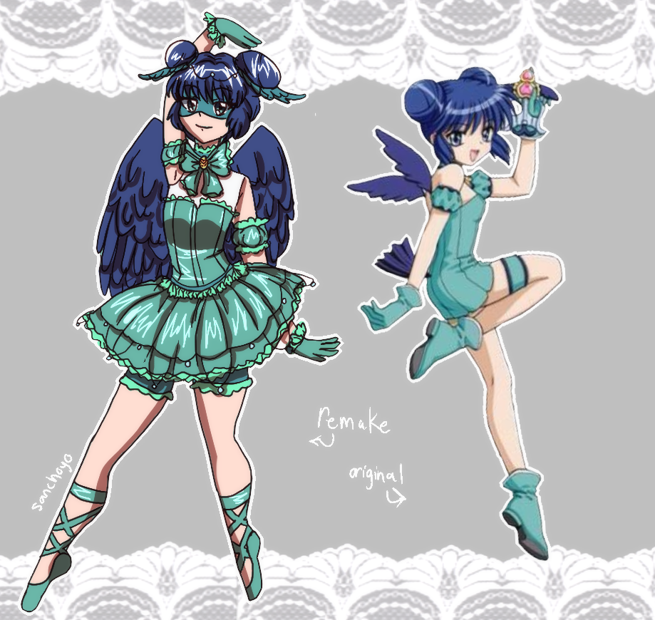 Magical Girl Redesign Mint By Sanchoyo On Deviantart