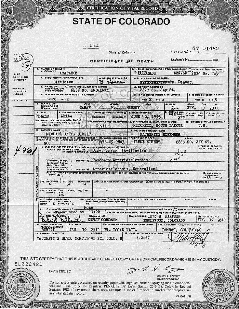 Fake Death Certificate By Vincentsonlylover On Deviantart Clmroots