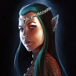 A Star Within Reach - Tauriel by endave