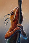 Chilling in the rain