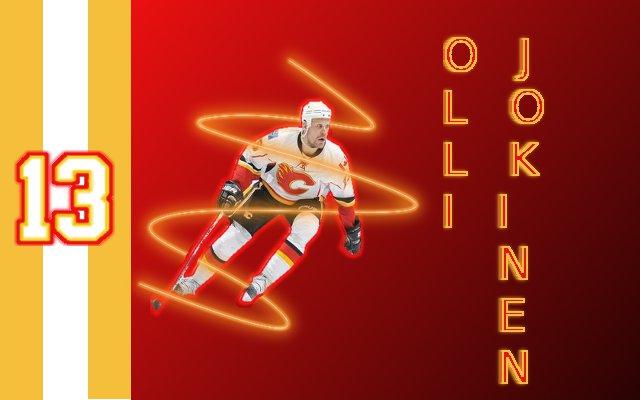 Olli Jokinen Calgary Flames Wallpaper By B Mint1994 On Deviantart