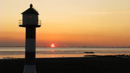 Lighthouse - Unterfeuer by Angie-Pictures