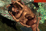 Conjoined Celeb CatFight in tight CATBALL by RealFetishClown