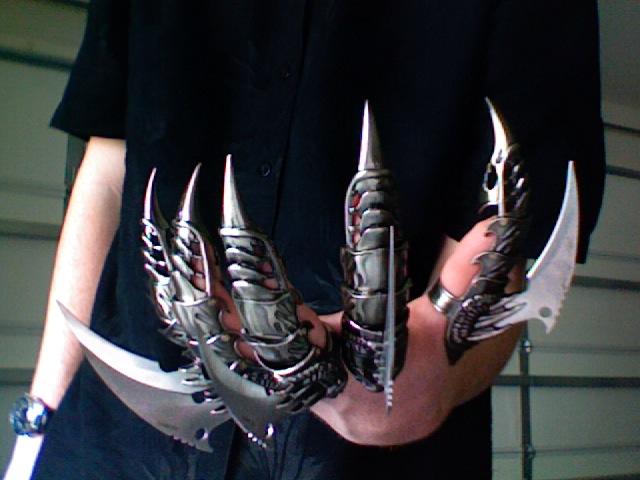 sharp finger claws. razor claws by swordmaster123 sharp finger