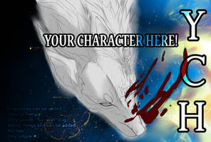 |YCH|the blue fire burns [CLOSED] by obscvritas