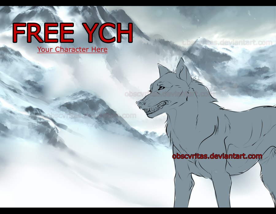 FREE YCH  [ I'm back ] - CLOSED by obscvritas