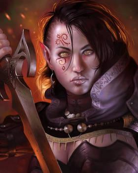 Neutral evil elven fighter/thief