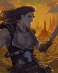 Fantasy Warrior by SimonARPalmer