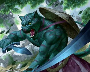 Tiger warrior by SimonARPalmer