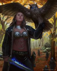 Viking Sorceress by SimonARPalmer