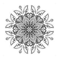 Zentangle Mandala II by Lexa-Wagner