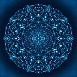 Mandala Night Glow by Lexa-Wagner