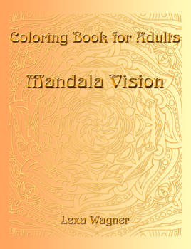 Coloring Book for Adults - Mandala Vision