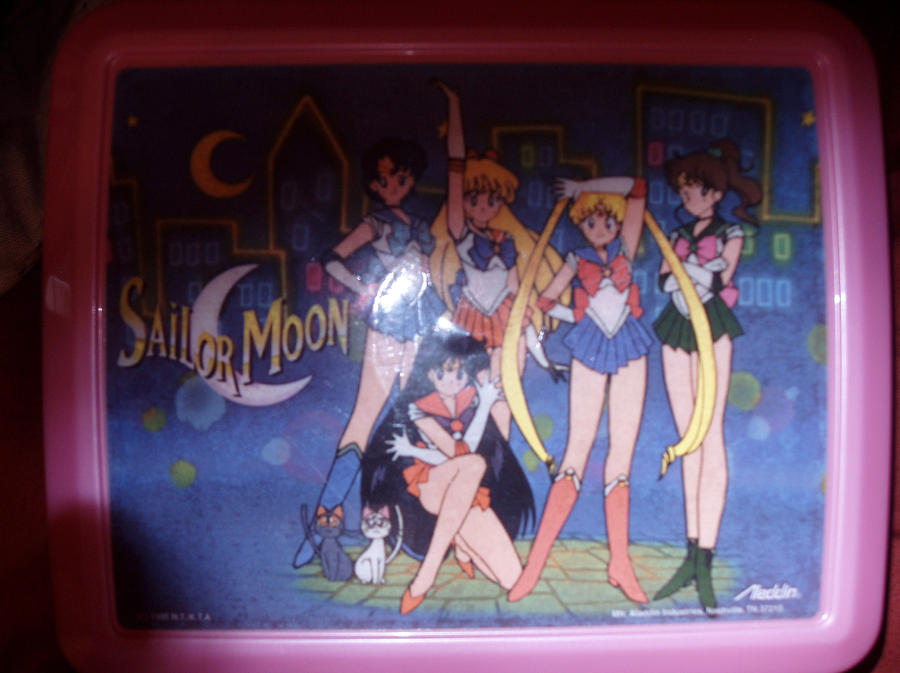 Sailor Moon Lunchbox by KittyChanBB