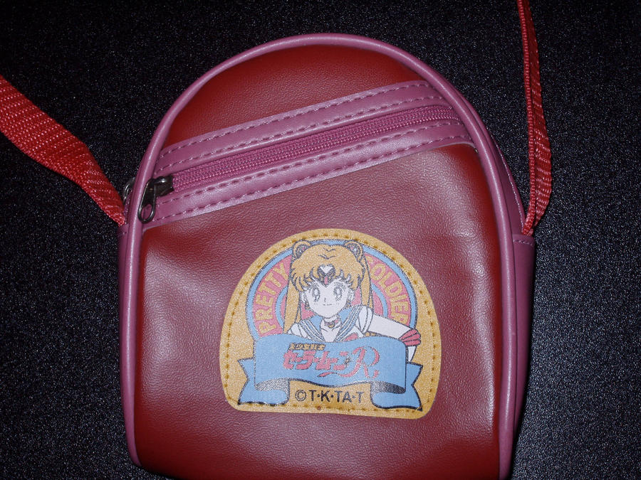 Sailor Moon Shoulder Purse by KittyChanBB