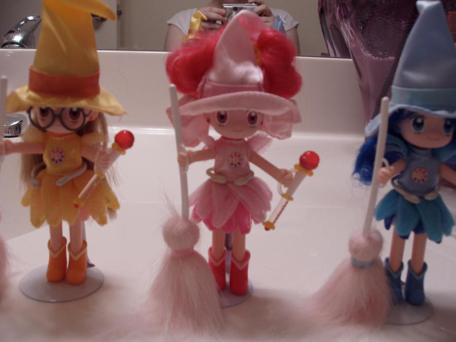 US Ojamajo Doremi Dolls by KittyChanBB