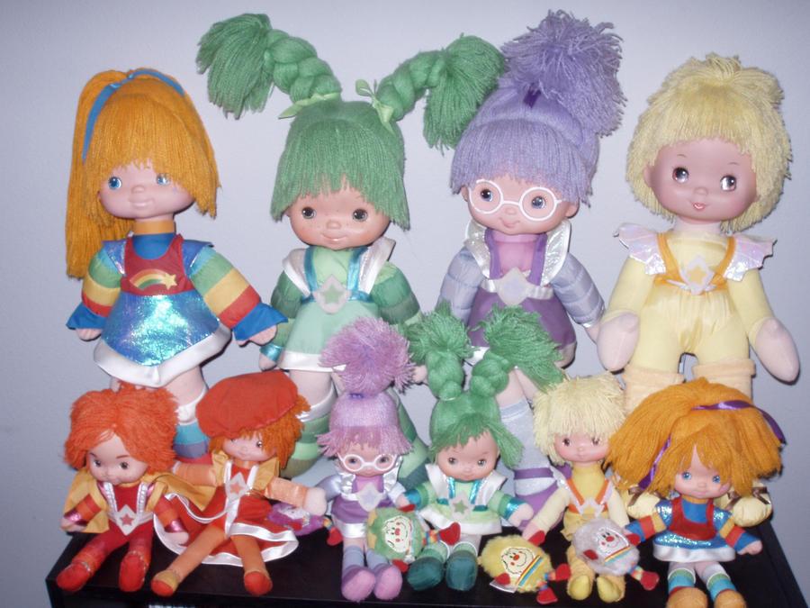 Rainbow Brite Dolls UPDATED by KittyChanBB