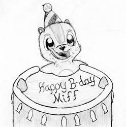 Happy Birthday Miff