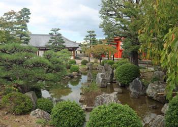 Sanjusangendo Temple Garden by Jack-13