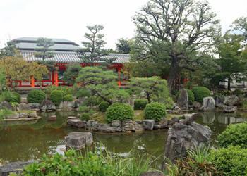 Sanjusangendo Temple Garden 2 by Jack-13