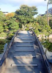 Bridge Over Peaceful Water by Jack-13