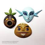 Masks of The Legend of Zelda. Majora's Mask.