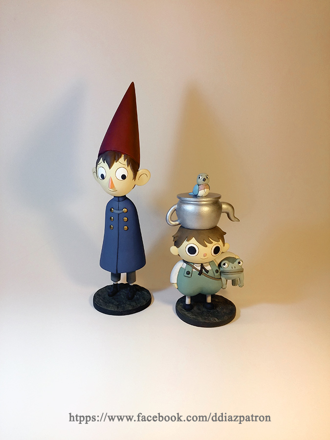 Over The Garden Wall Figures Figuras By Ddpatron On