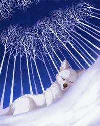 Frosty nap